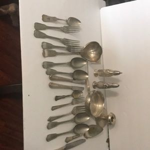 Vintage silver plated lot